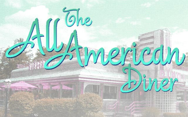 Delight Script by Sudtipos - All American Diner in 50s Teal Blue